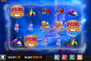 Reef Run Mobile Slot Reels