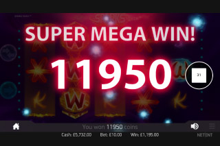 Sparks Mobile Slot Super Mega Win