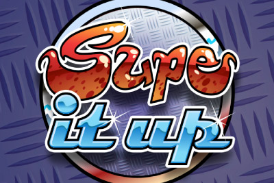 Supe it Up Mobile Slot Logo