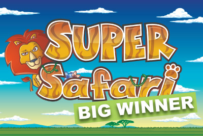 50,000 Super Safari Slot Big Winner