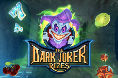 The Dark Joker Rizes Mobile Slot Logo