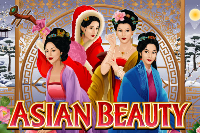 Asian Beauty Mobile Slot Logo