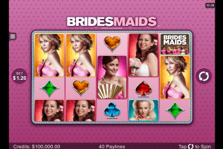 Bridesmaids Mobile Slot Reels