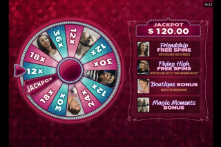 Bridesmaids Mobile Slot Wheel of Fortune