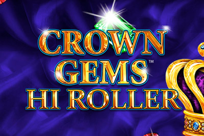 Crown Gems Mobile Slot Logo