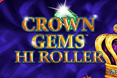 Crown Gems Mobile Slot Logo