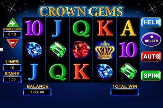 Crown Gems Mobile Slot Reels