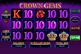 Crown Gems Mobile Slot Win