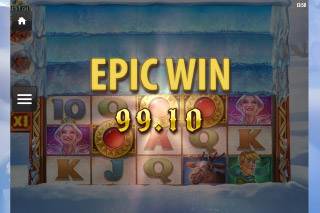 Crystal Queen Mobile Slot Epic Win