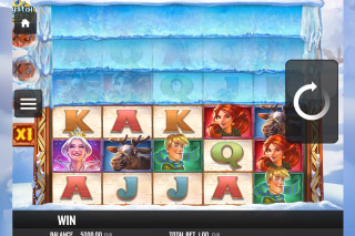 Crystal Queen Mobile Slot Reels