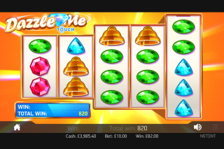 Dazzle Me Mobile Slot Free Spins