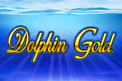 Dolphin Gold Mobile Slot Logo