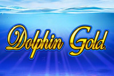 Dolphin Gold Mobile Slot Logo