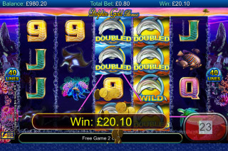 Dolphin Gold Mobile Slot Win