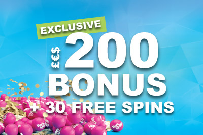Get Your Bigger & Better New Casino Bonus At Vera&John