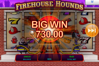 Firehouse Hounds Mobile Slot Big Win