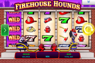 Firehouse Hounds Mobile Slot Wilds