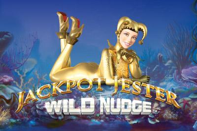 Jackpot Jester Wild Nudge Mobile Slot Logo