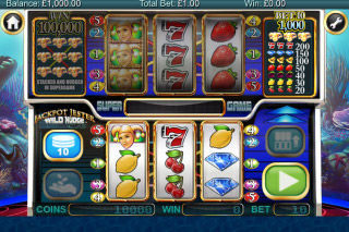 Jackpot Jester Wild Nudge Mobile Slot Reels