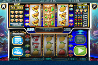 Jackpot Jester Wild Nudge Mobile Slot Super Reels