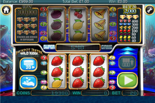 Jackpot Jester Wild Nudge Mobile Slot Win
