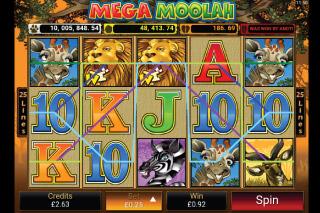 Mega Moolah Mobile Slot Win