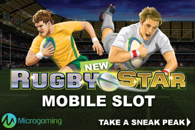 New Microgaming Rugby Star Mobile Game Coming In September 2015
