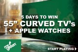 Win Apple Watches & Samsung Curved TV's This Week