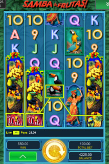 Samba de Frutas Mobile Slot Win