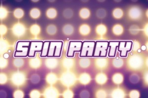 Spin Party Mobile Slot Logo