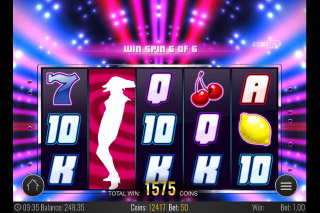 Spin Party Mobile Slot Reels