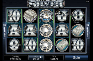 Sterling Silver Mobile Slot Reels