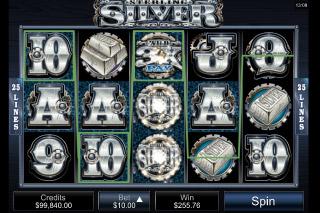 Sterling Silver Mobile Slot Reels
