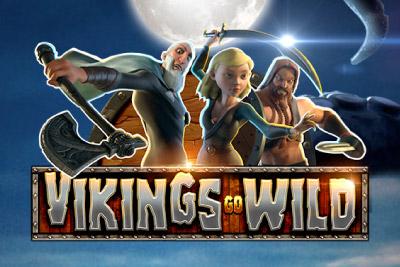 Vikings Go Wild Mobile Slot Logo