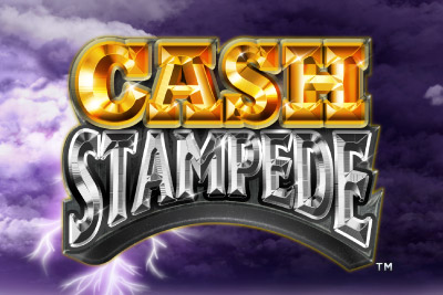 Cash Stampede Mobile Slot Logo