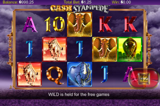 Cash Stampede Mobile Slot Reels