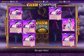Cash Stampede Mobile Slot Symbols