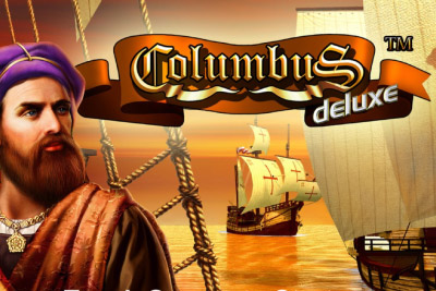 Columbus Deluxe Mobile Slot Logo