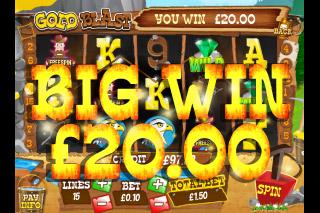 Gold Blast Mobile Slot Win