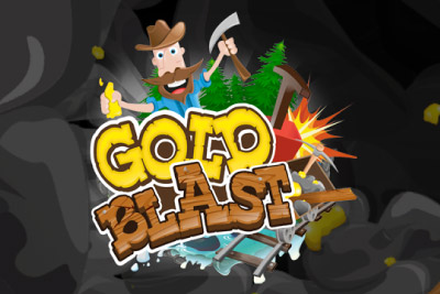Gold Blast Mobile Slot Logo
