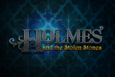 Holmes And The Stolen Stones Mobile Slot Logo