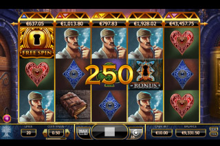 Holmes And The Stolen Stones Mobile Slot Reels