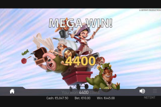 Hooks Heroes Mobile Slot Mega Win