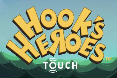 Hooks Heroes Mobile Slot Logo