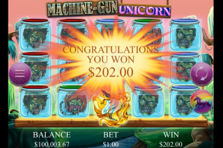 Machine Gun Unicorn Mobile Slot Big Win