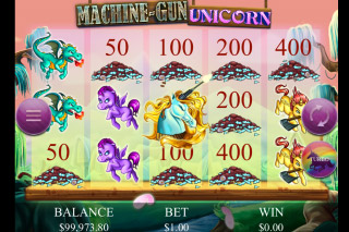 Machine Gun Unicorn Mobile Slot Wins