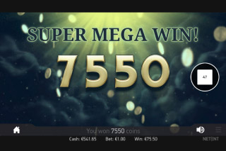 Mr Green Moonlight Mobile Slot Super Mega Wins