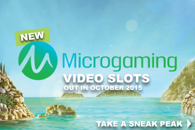 New Microgaming Slots Coming in October 2015