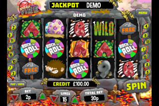 Quest For Fire Mobile Slot Reels