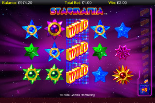 Starmania Mobile Slot Free Spins